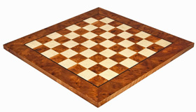 Luxury Briarwood Chess Board