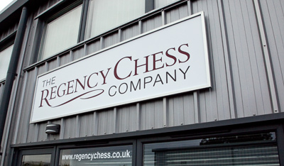 The Regency Chess Company Warehouse