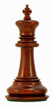 red Sandalwood Chess Piece