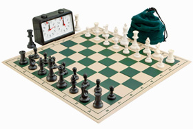 Complete School Tournament Chess Set