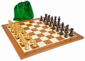 Conquest Staunton Chess Set